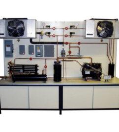 TU-155 industrial refrigeration trainer