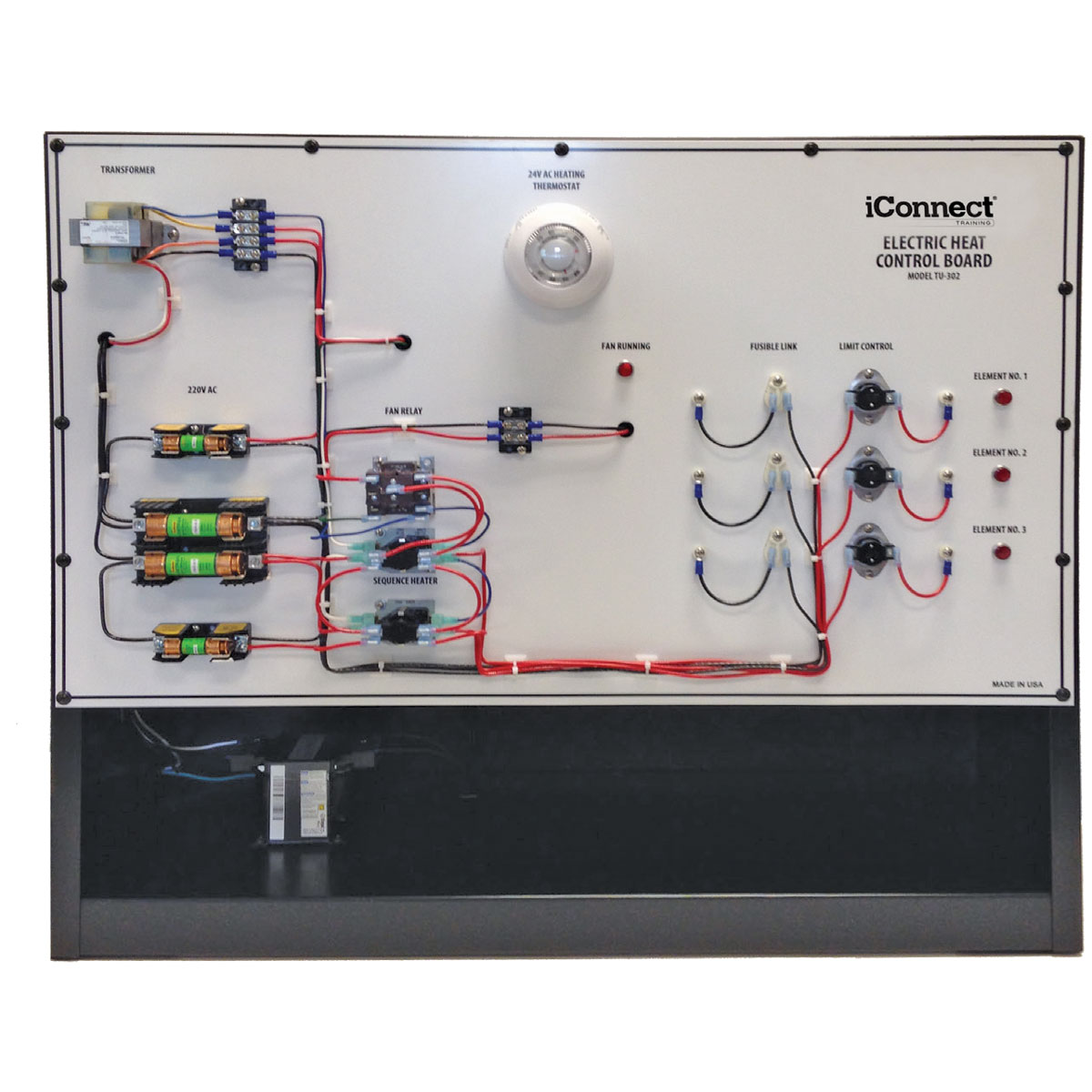 electric heat trainer control board