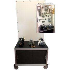 TU-501 motors controls circuits build up trainer