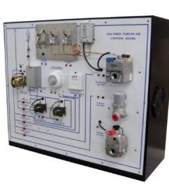 TU-502 gas fired heating control-board