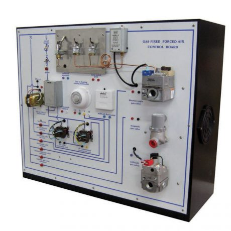TU-502 gas fired heating control-board