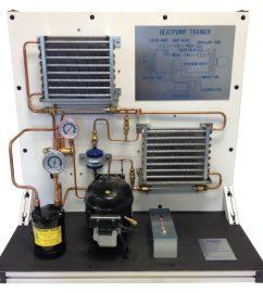 TU-701 TABLE-TOP HEAT PUMP TRAINER