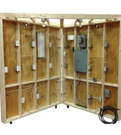 TUE-200 residential wiring demonstrator