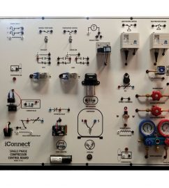 521 single phase compressor control board