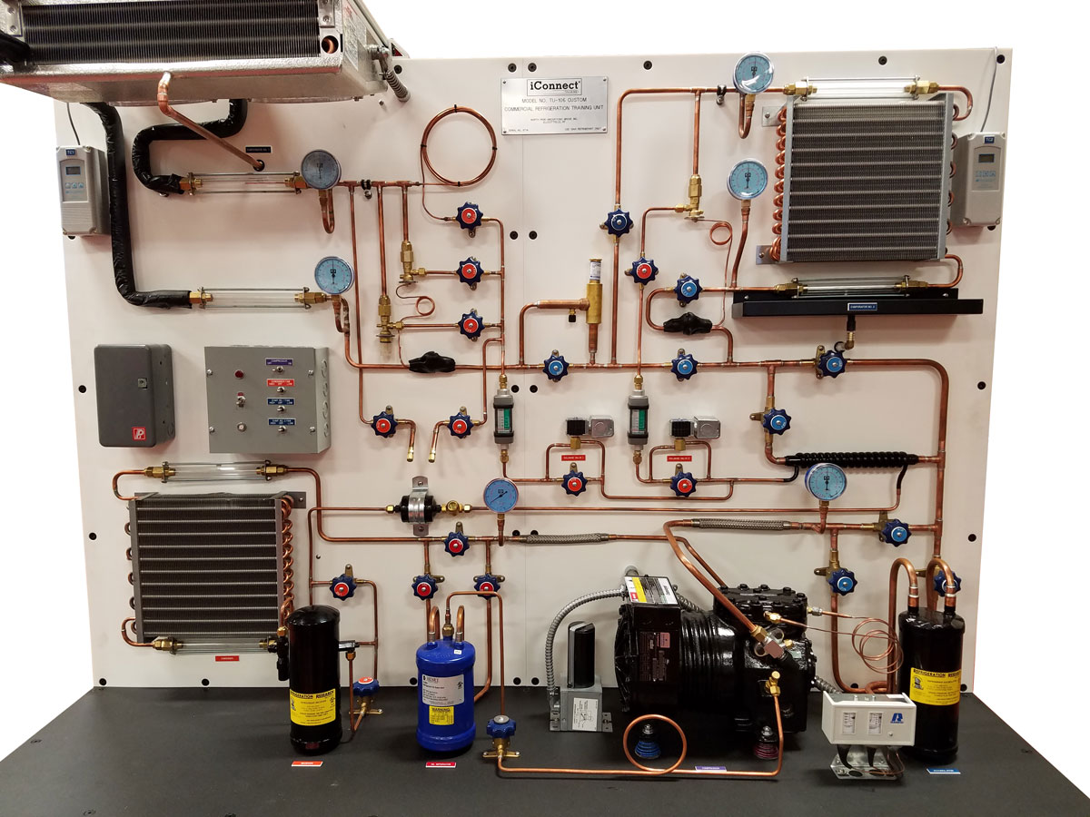 Tu 106 Dual Application Commercial Refrigeration Trainer Iconnect Compressor Wiring Home