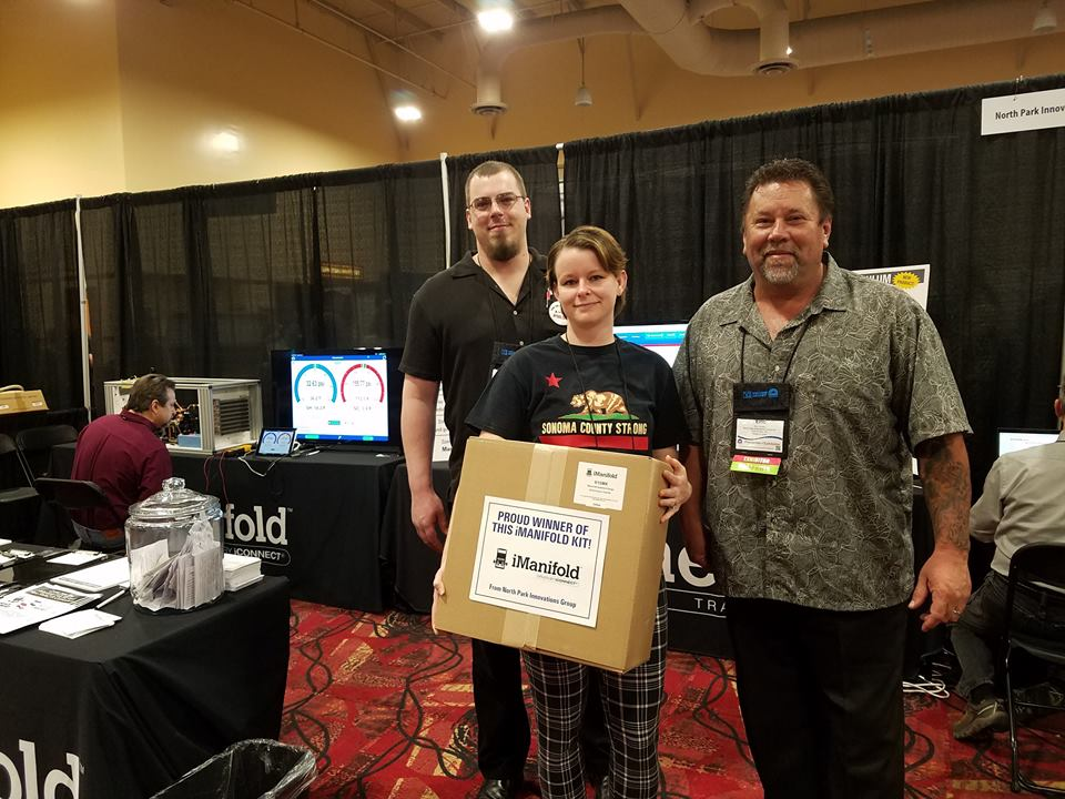 HVACR Event - iManifold Kit winner at the National HVACR Educators and Trainers Conference
