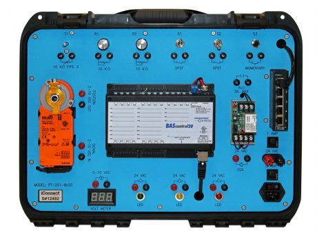PT-201 Portable, wireable BAS Controller trainer