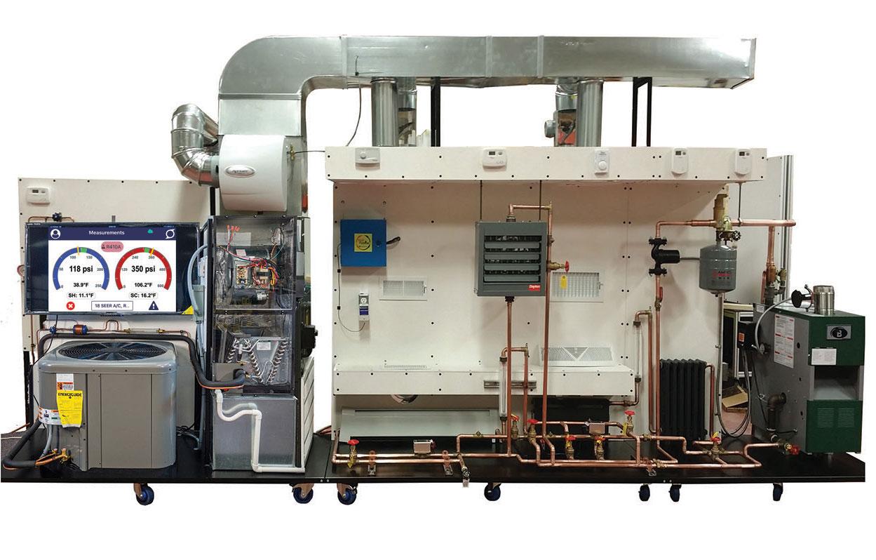 TU-208 Heat Pumpwith HDTV, Air Handler and Gas Boiler