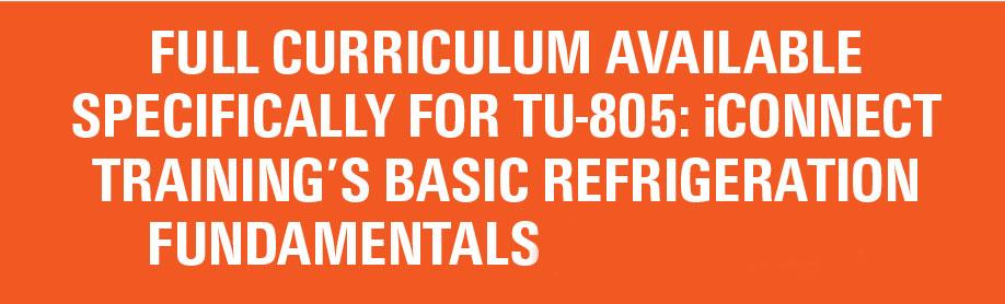 TU-805 curriculum
