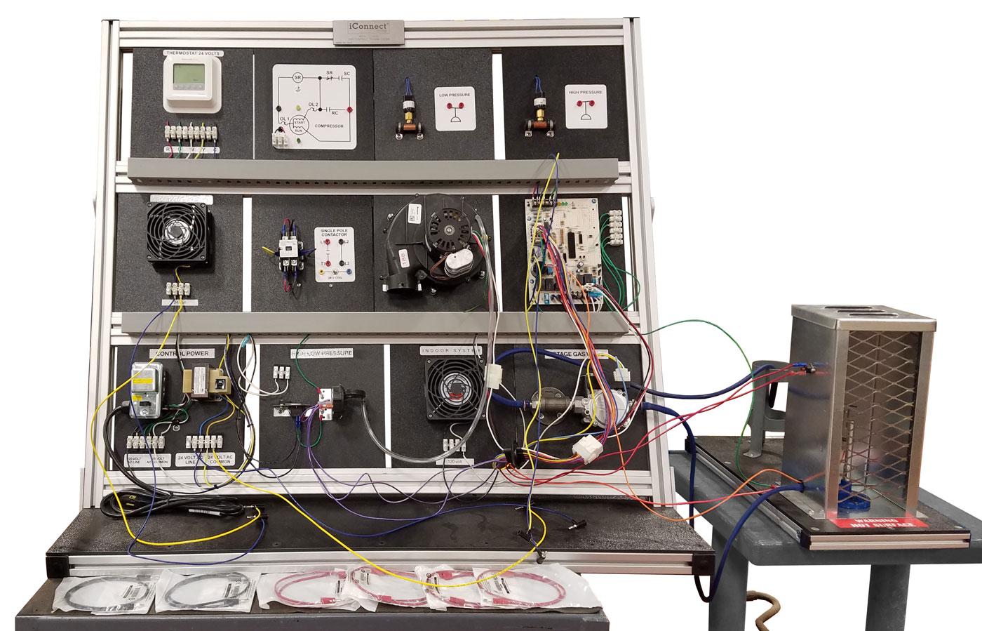 TU-9250 HVAC Controls Training System