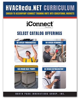 HVACR Curriculum Offering Catalog by iConnect Training and HVACRedu.net