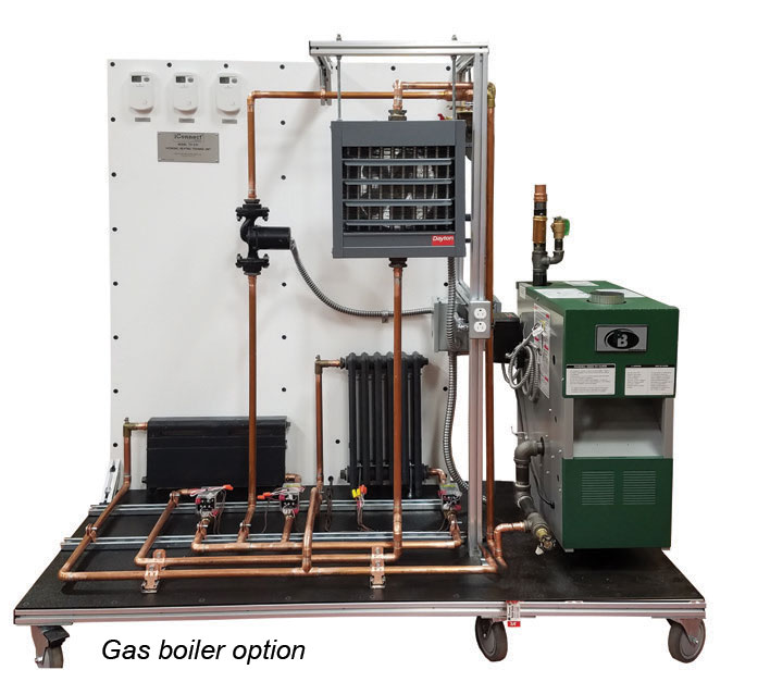 TU-210 Gas boiler option