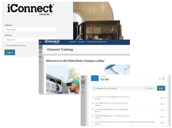 iConnect training curriculum